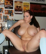 bbw teen on the table